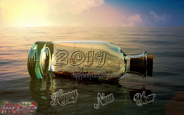 New Year 2019 3D HD Images Download Free
