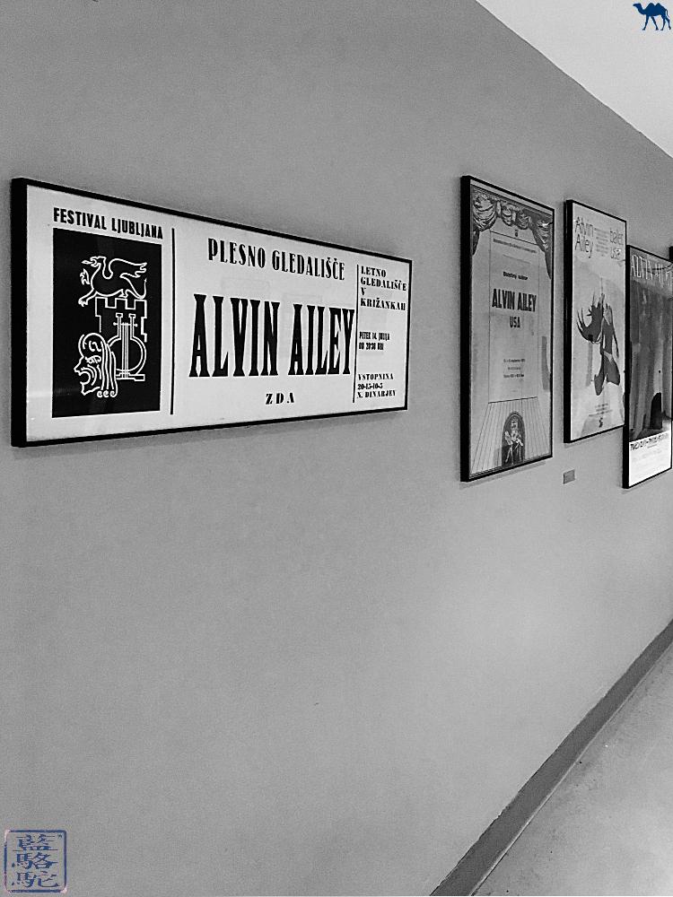 Le Chameau Bleu - Affiche du  Studio de danse de Alvin Ailey à New York Mid Town USA