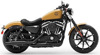 sportster 883 iron my 2019 yellow