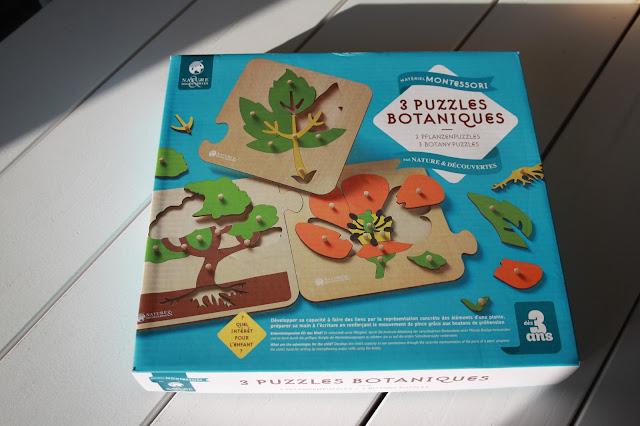 Mon avis et comment nous utilisons les puzzles botaniques