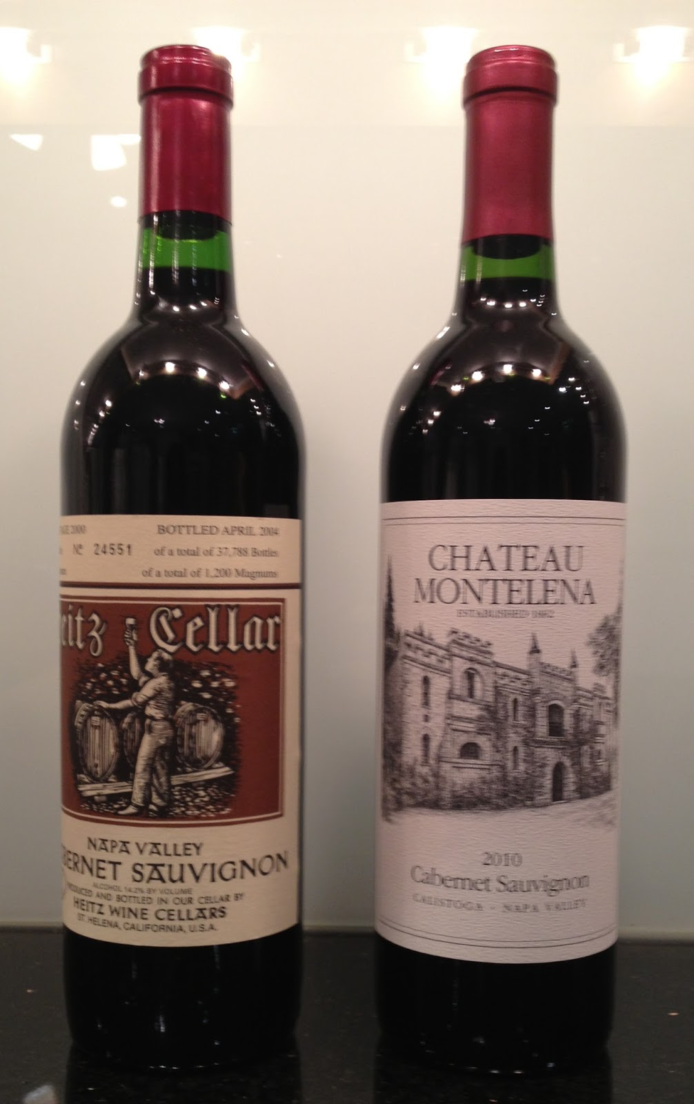 I was in the mood for Napa Cabernet Sauvignon and found a classic bottle 2000 Heitz Cellaru0027s Marthau0027s Vineyard on sale for half price so I had ... & 2000 Heitz Cellar Cabernet Sauvignon Marthau0027s Vineyard and 2010 ...