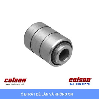 Bánh xe chống tĩnh điện Colson Mỹ càng xoay phi 100 | 2-4646-445C sử dụng ổ bi banhxepu.net