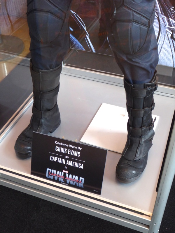 Captain America Civil War costume boots