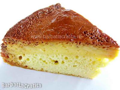 Felie de tort de zahar ars (imaginea retetei)