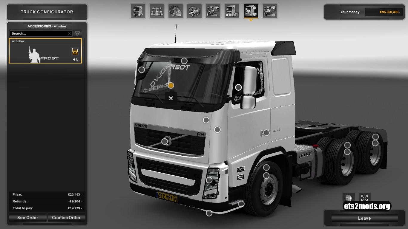 Truck - Volvo FH 13 Iran Style