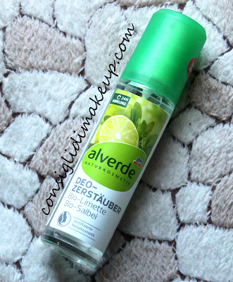 Review: Deodorante lime e salvia - Alverde