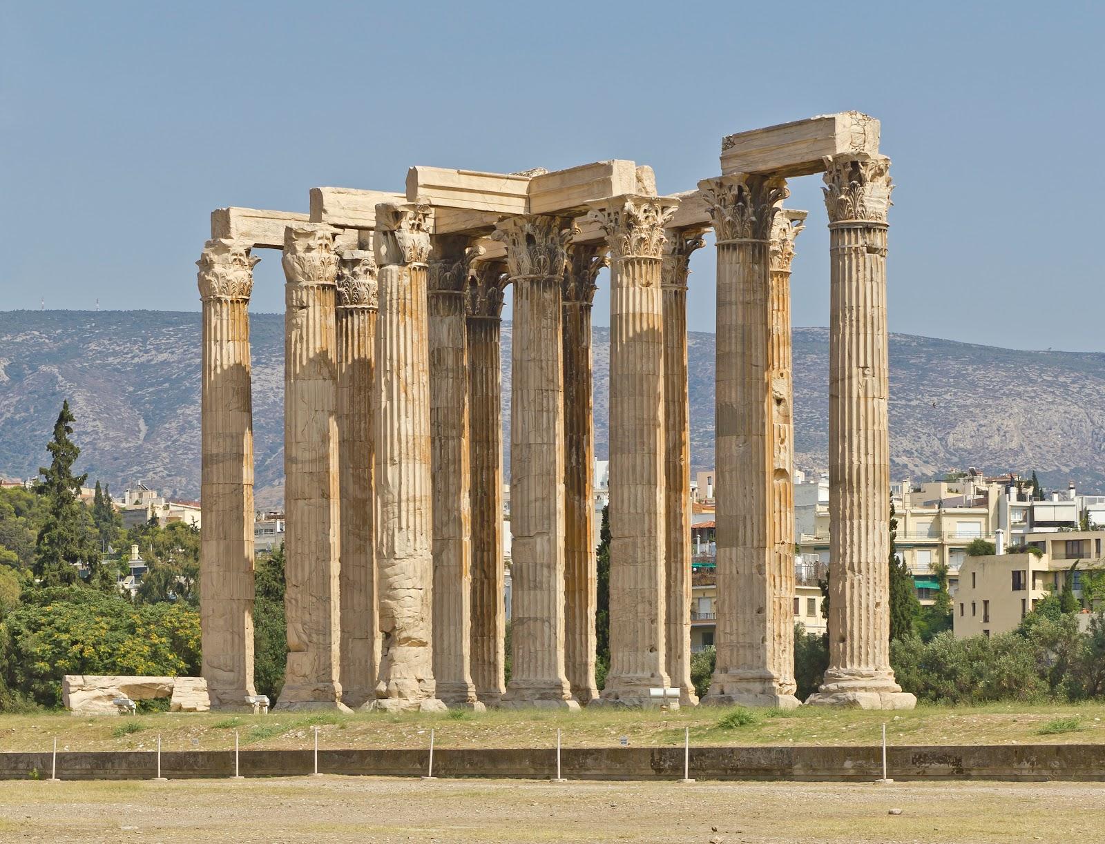 アテネのオリンピア=ゼウス神殿