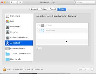 Accessibilità Mac