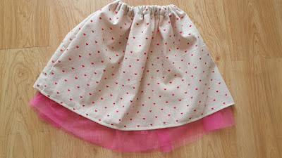 Tulle Lined Spring Skirt Tutorial