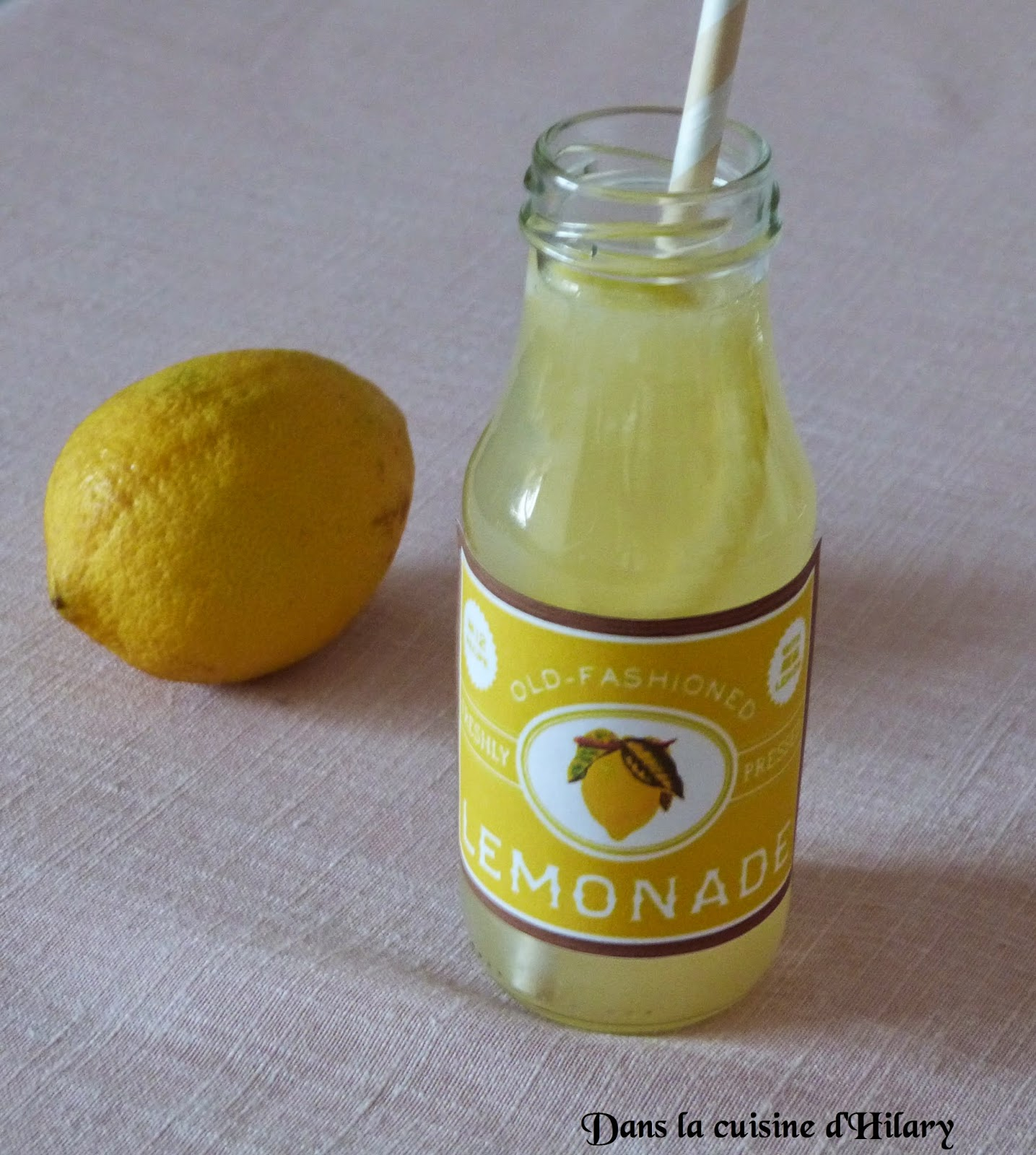 Citronnade traditionnelle