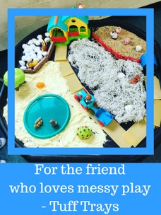 Tuff Tray Ideas for Busy Parents Messy Sensory Play