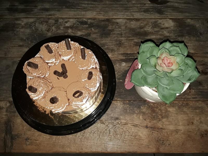 Soirée anniversaire et gâteau au chocolat
