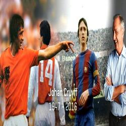 Câncer de pulmão vence Johan Cruyff