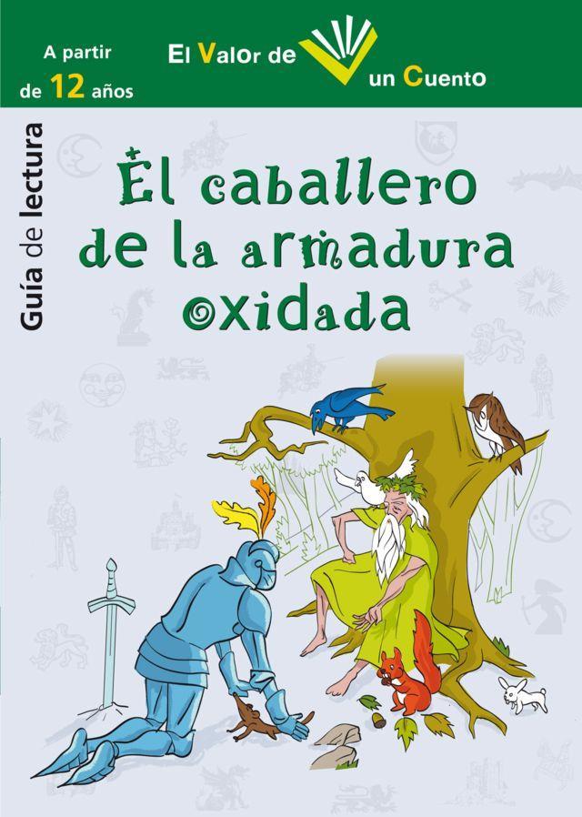 El caballero de la armadura oxidada-Guía de lectura-ilustración: Mario Diniz