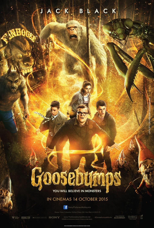 Nonton Film Goosebumps (2015)