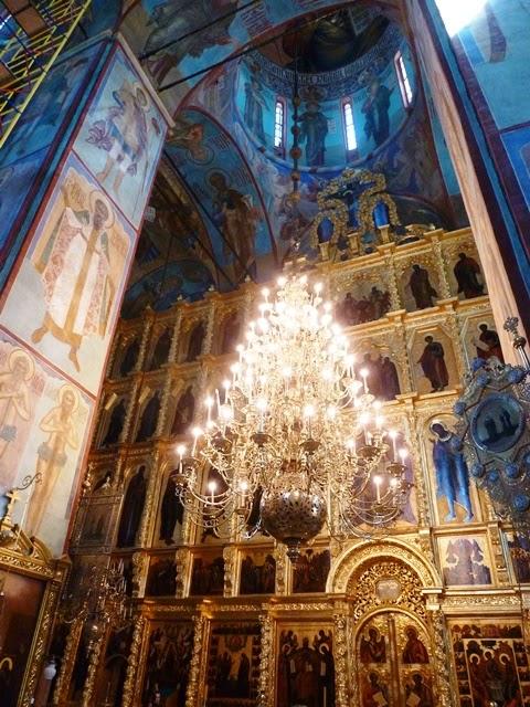 Russia - Sergiev Posad, monasterio ruso, Serguiev Posad