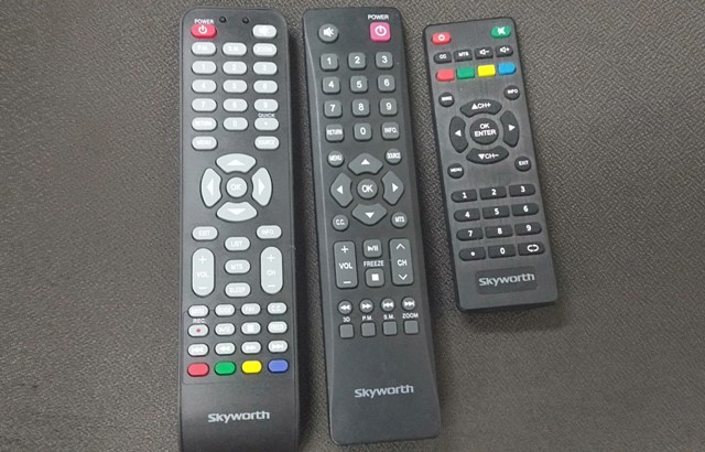 Skyworth basic remote