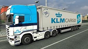 KLM Scania R skin + trailers