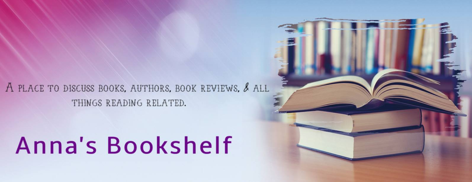 Follow Anna's Bookshelf on Facebook!