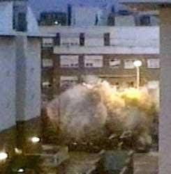 Explosión en Leganés