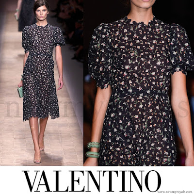 Crown Princess Mette-Marit VALENTINO Dress - Spring 2013 Ready to Wear
