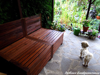 DIY Gartenbett