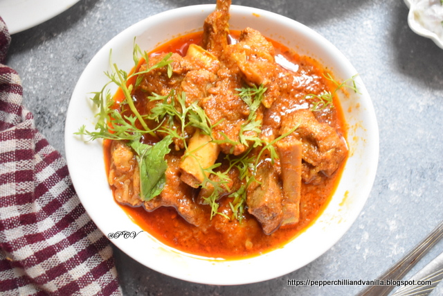 How to make dhaba style mutton
