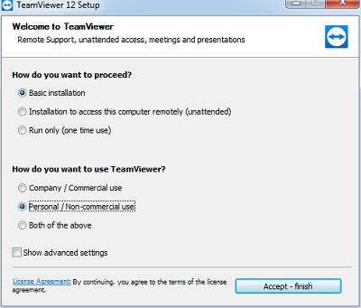 Cách cài đặt phần mềm Teamviewer - Điều khiển máy tính từ xa