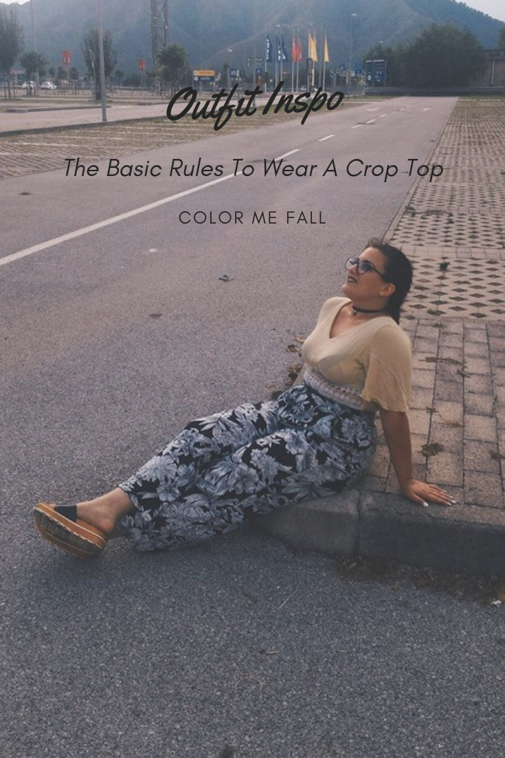 The Basic Rules To Wear A Crop Top