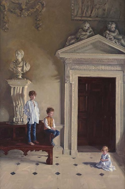 """The Cholmondeley children"" by Phoebe Dickinson 
