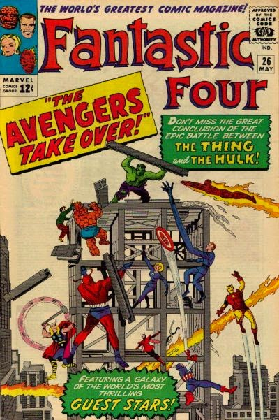 Fantastic Four #26, the Hulk and the Avengers