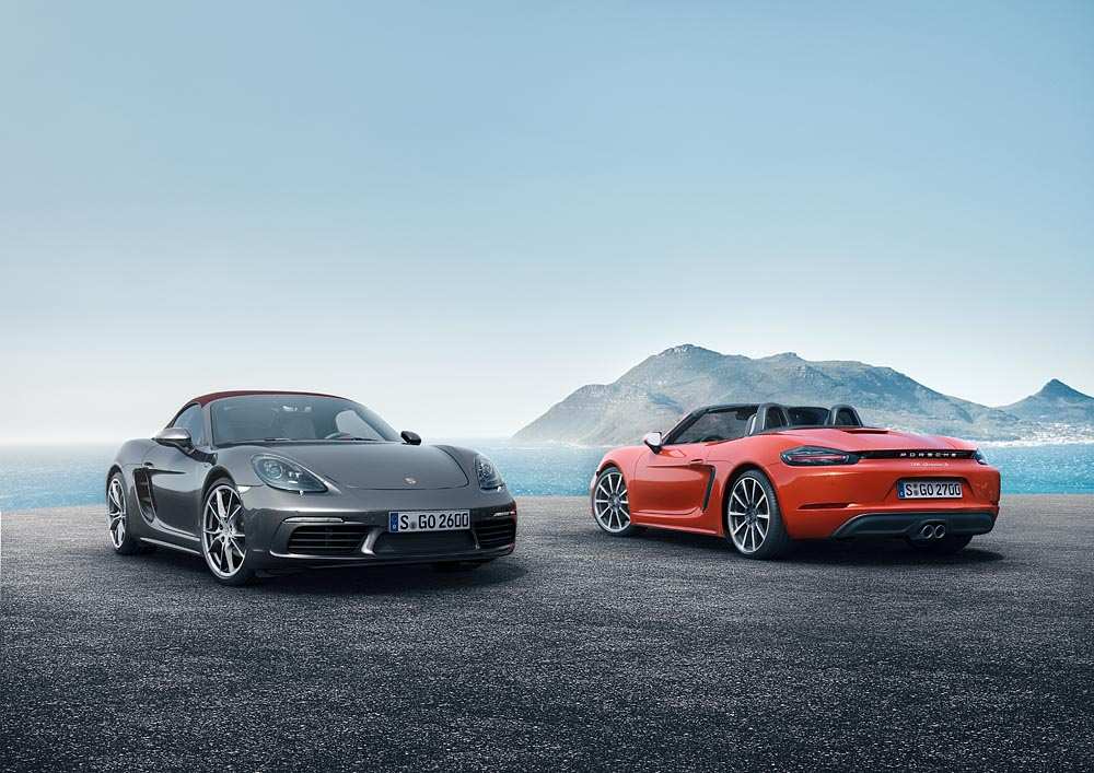 1 Με δίλιτρο turbo μπόξερ 300 ίππων η Porsche 718 Boxster Porsche, Porsche 718 Boxster, Porsche 718 Boxster S, Porsche Boxster, Roadster, videos