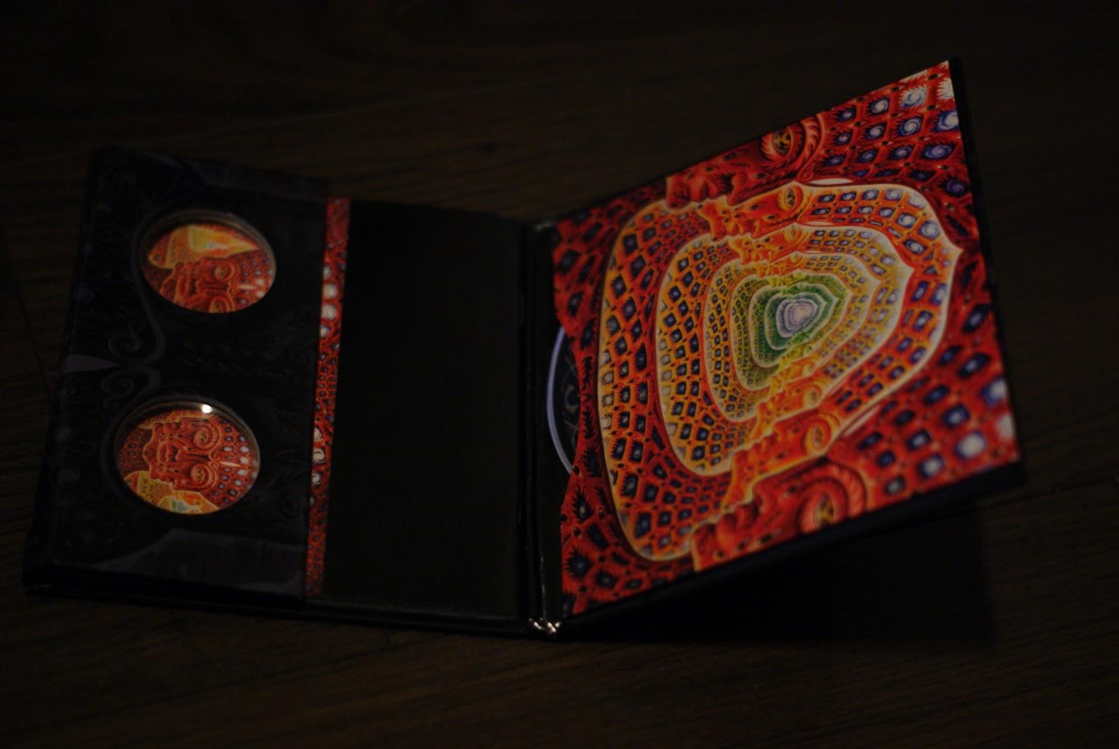 Album Packaging: 10,000 Days - Tool