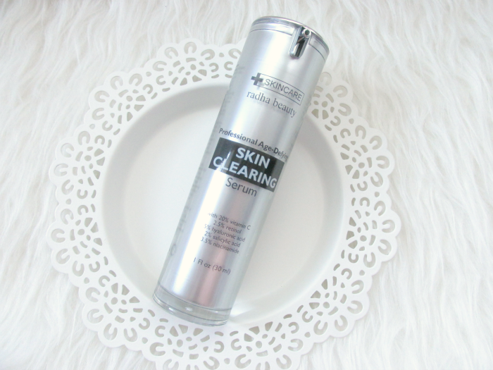 Review: radha beauty - Professional Age-Defying SKIN CLEARING Serum 20% Vitamin C