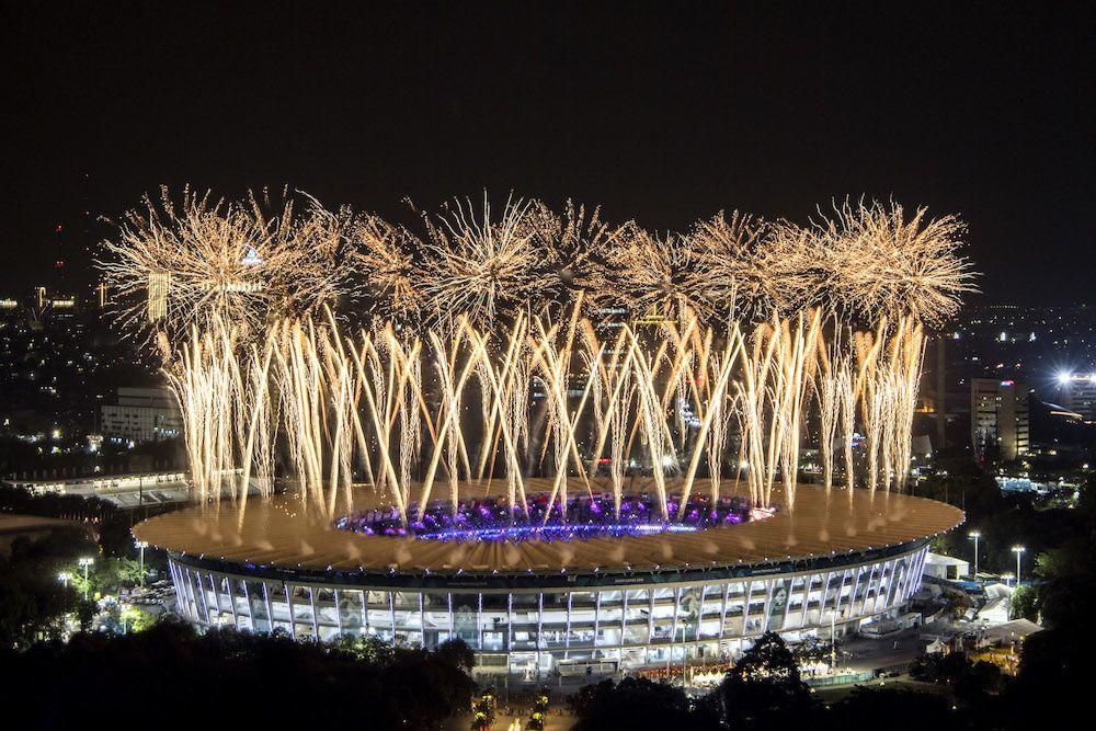 Momen-Momen Terbaik di Opening Ceremony Asian Games 2018