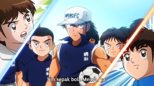 Captain Tsubasa 2018 Episode 13 Subtitle Indonesia
