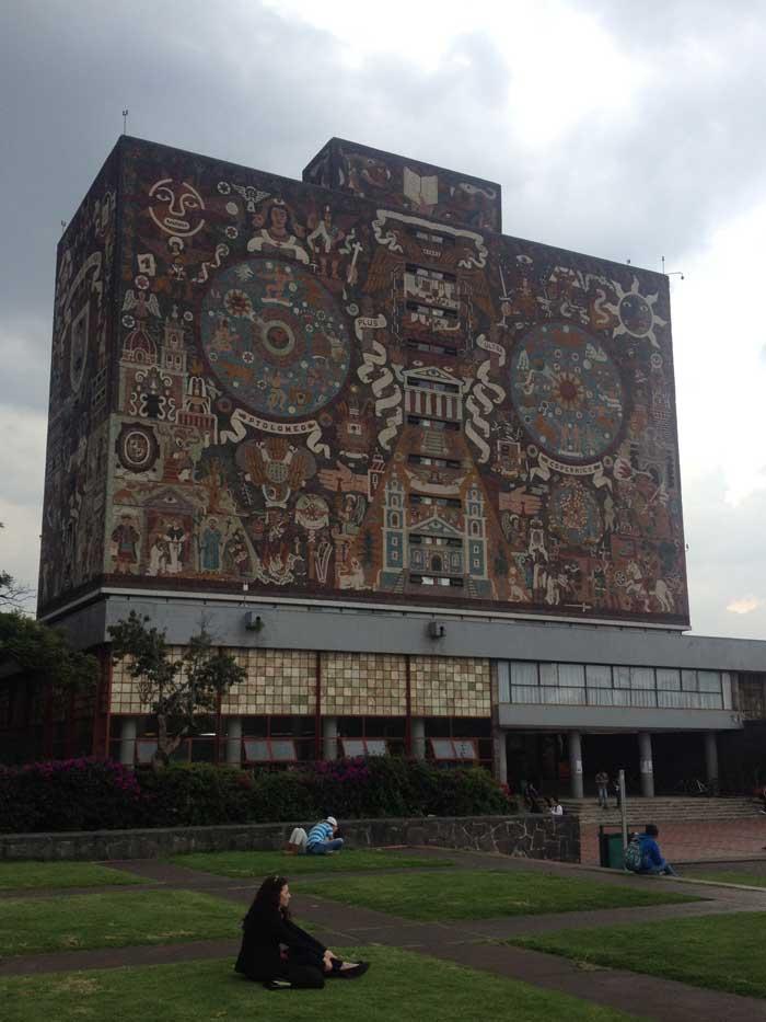UAM-Juan O'Gorman-Mural-Biblioteca Central
