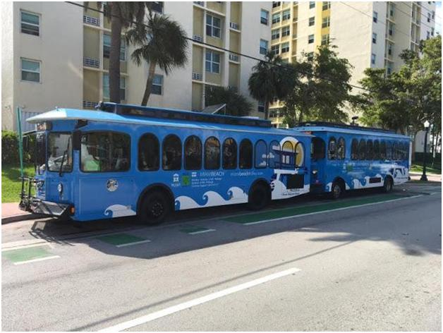 The Best Of All Possible Trolleys Is In Miami Beach