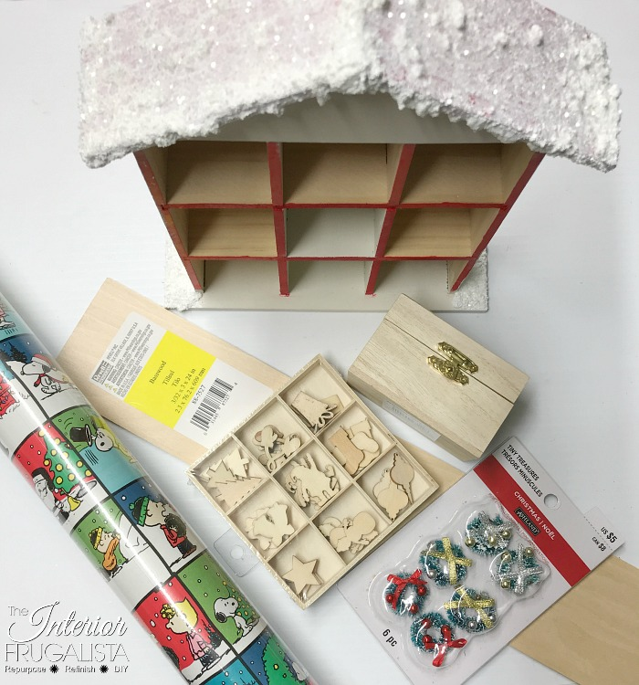 Christmas Countdown Santa Cottage Supplies