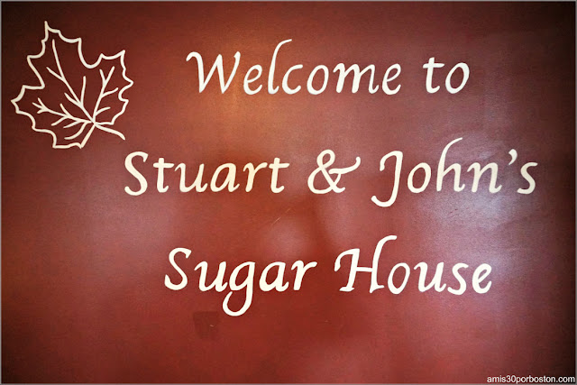 Sirope de Arce en New Hampshire: Stuart and John's Sugar House