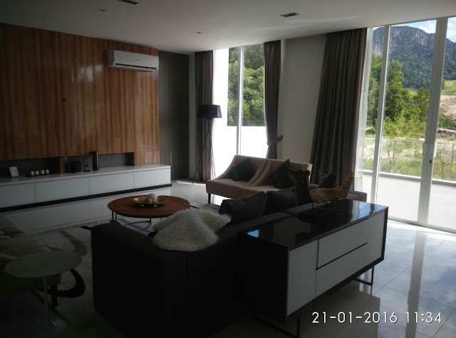 4 Storey Twin Courtyard Villa , Contours Melawati Height , Type D