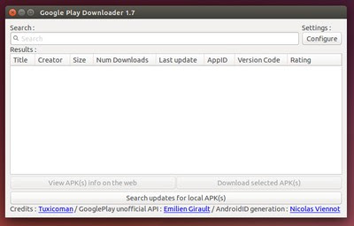 Google Play Downloader