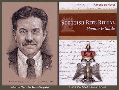 Arturo de Hoyos, 33°, GC. Scottish Rite, SJ. Supreme Council. House of the Temple. by Travis Simpkins