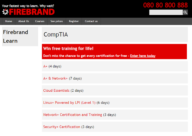 CompTIA A+ Kursunterlagen bei Firebrand Learn