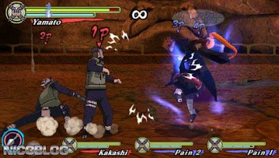 Naruto Shippuden Narutimate Accel 3 ISO English Patch