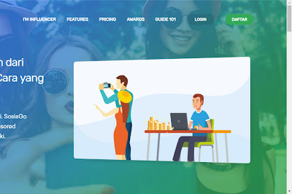2 Cara Coba SOSIAGO Influencer Marketing Terbaru