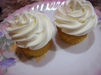 Hot Milk Sponge Cake made into cupcakes.