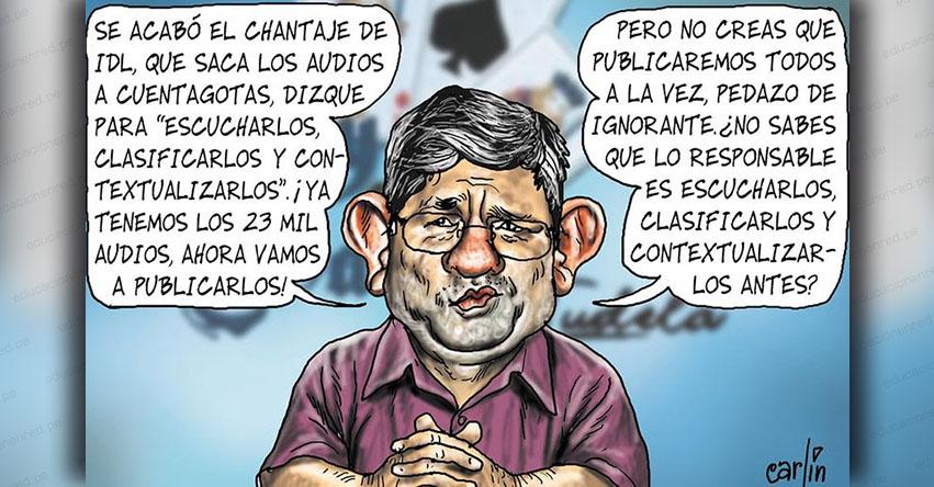 Carlincaturas Domingo 12 Agosto 2018 - La República