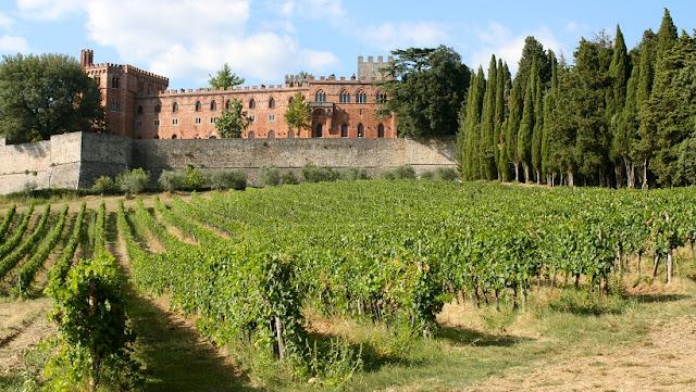 Vinícola Castello di Verrazzano na Toscana