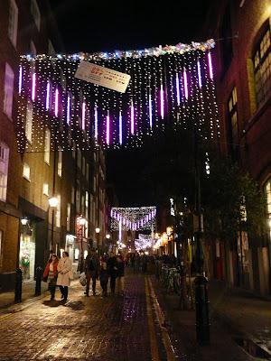 Londres Covent Garden à Noël